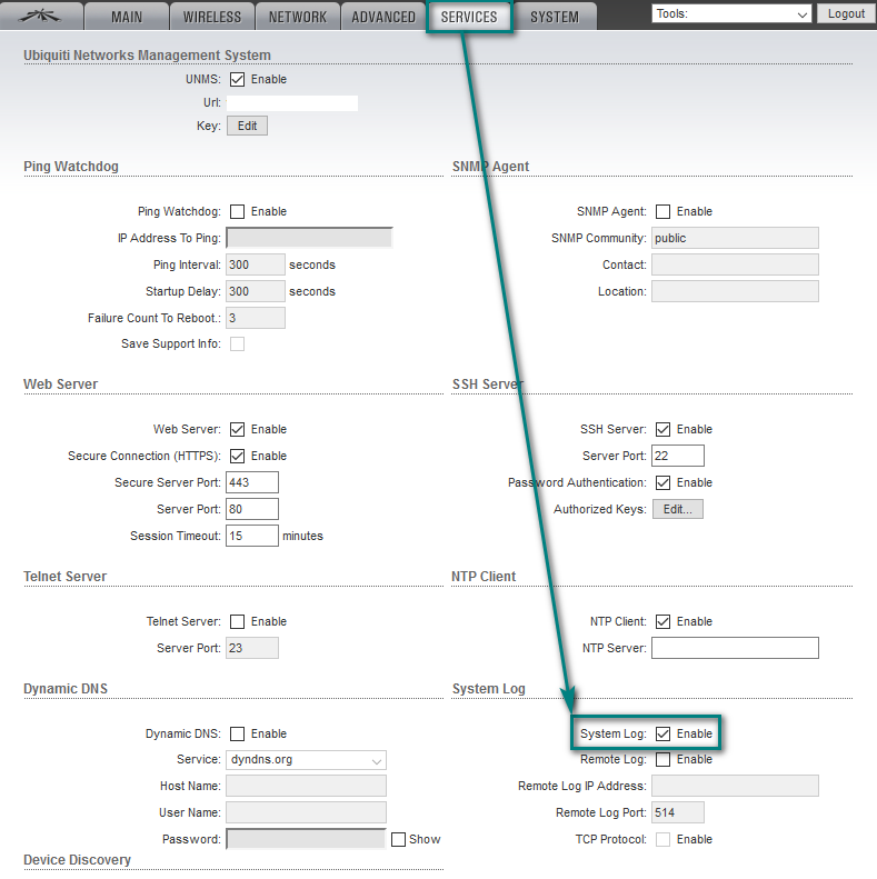 UNMS - How to Find Logs and Report Bugs – Ubiquiti Networks