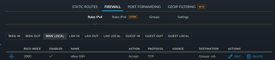 UniFi USG Port Forward Port Forwarding Configuration And - Minecraft server erstellen port