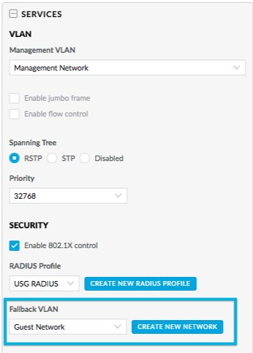 UniFi - USW: Configuring Access Policies (802 1X) for Wired Clients