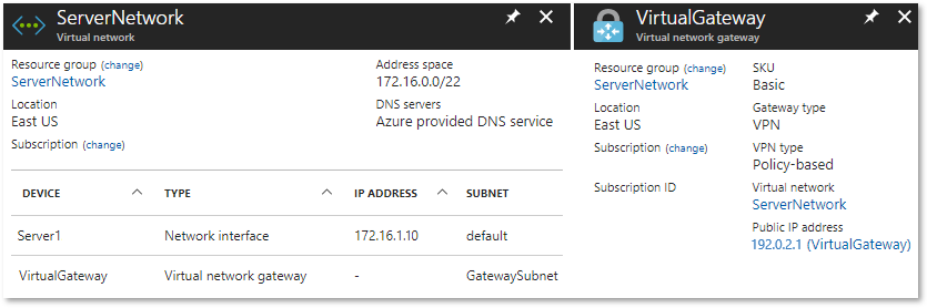 EdgeRouter - Policy-Based Site-to-Site IPsec VPN to Azure