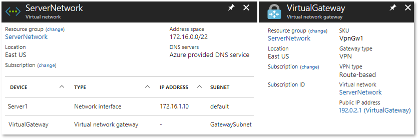 EdgeRouter - Route-Based Site-to-Site VPN to Azure (BGP over