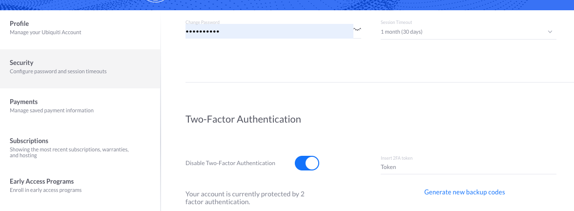 How to Enable Two Factor Authentication – Ubiquiti Networks Support