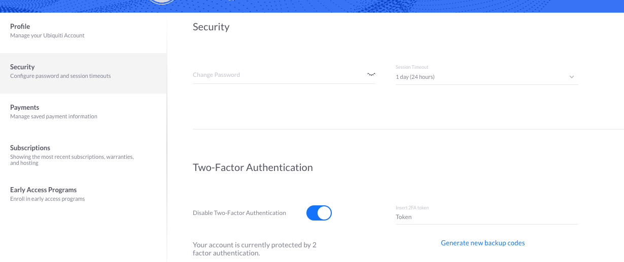 How to Enable Two Factor Authentication – Ubiquiti Networks